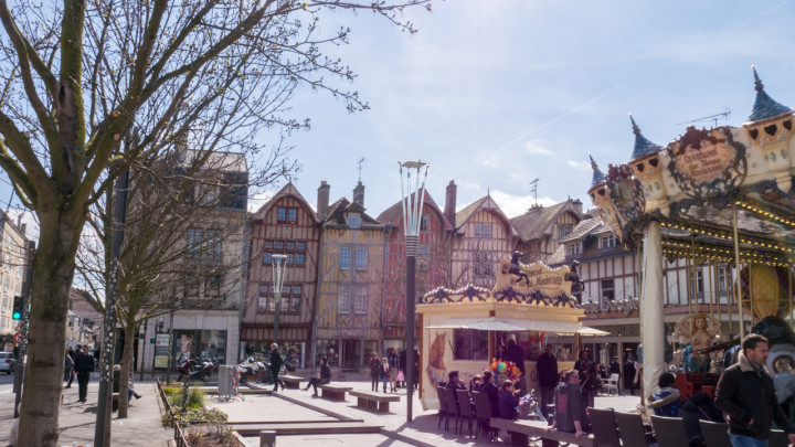 Visit of Troyes, France - roadtripsaroundtheworld.com