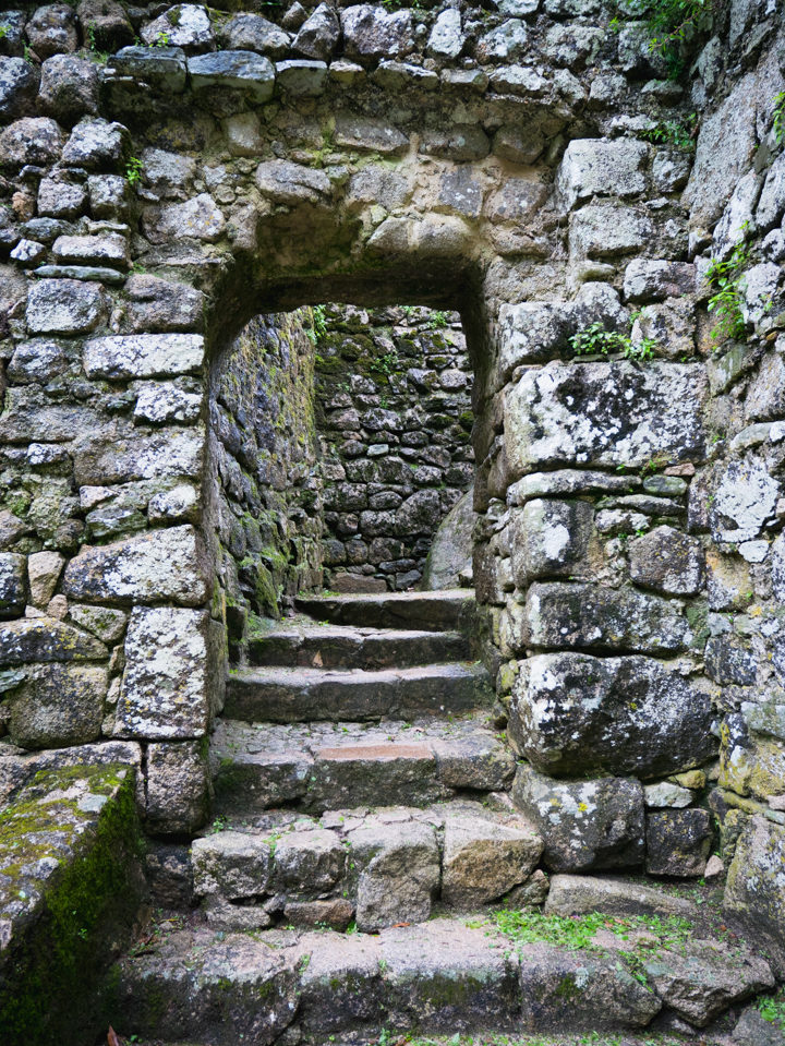 Entering the Castle Keep - The Moors Castle, Sintra - Portugal - Learn more on roadtripsaroundtheworld.com