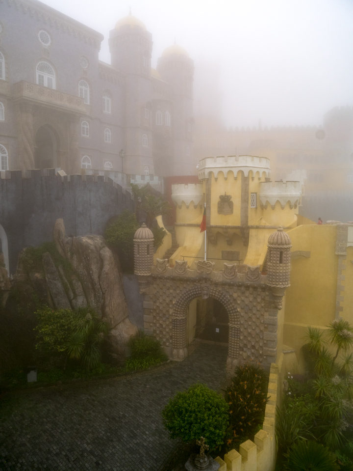 Entrance gate - Pena Palace - Sintra, Portugal - Learn more on roadtripsaroundtheworld.com