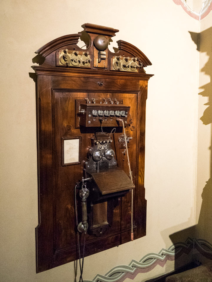 The Telephone Room -Pena Palace - Sintra, Portugal - Learn more on roadtripsaroundtheworld.com