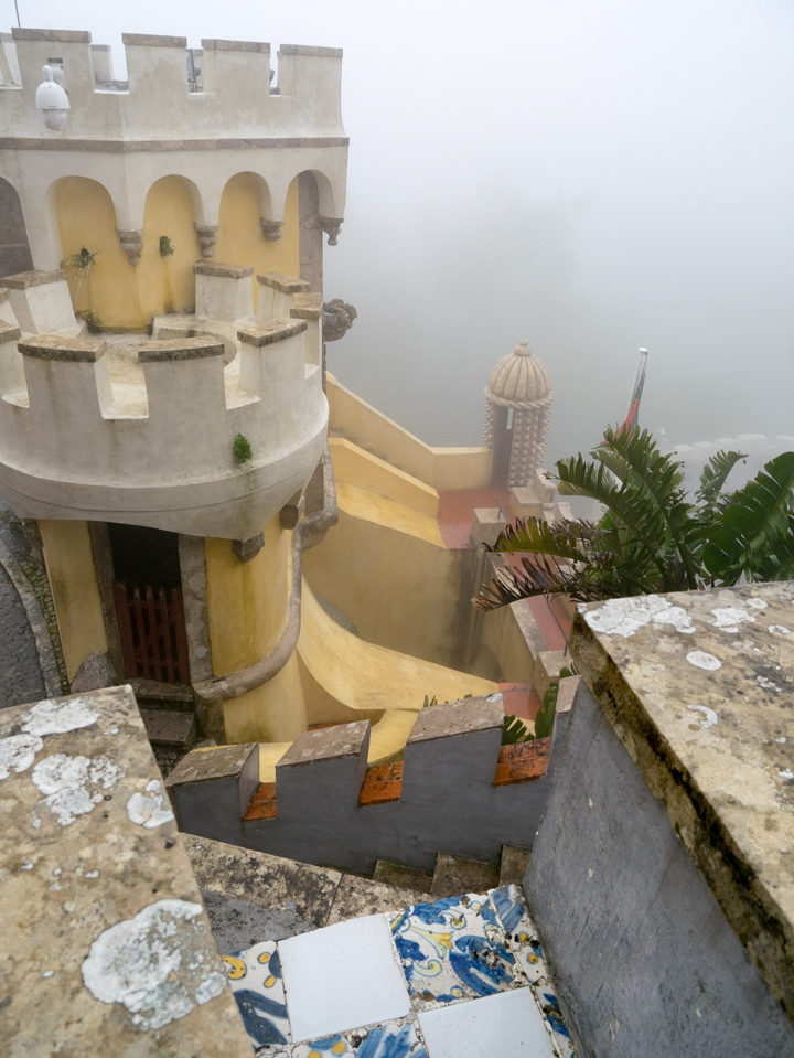 Tours of the Pena Palace - Sintra, Portugal - Learn more on roadtripsaroundtheworld.com