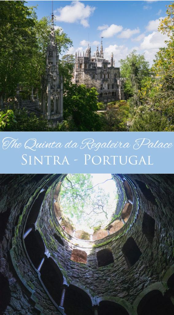 Come and explore the unique Quinta da Regaleira Palace in Sintra, Portugal - Learn more on RoadTripsaroundtheWorld.com