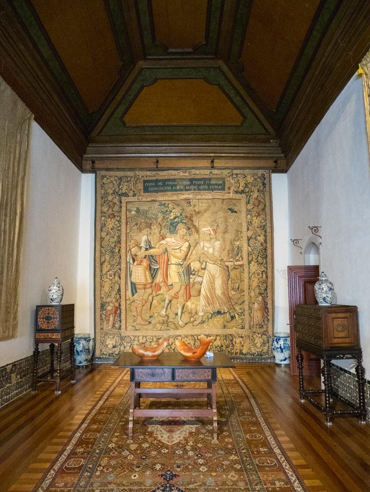 Julius Cesar room - Sintra Palace - Portugal - Learn more on RoadTripsaroundtheWorld.com