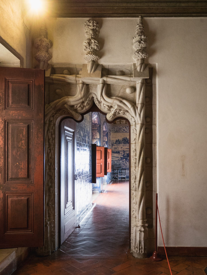Manueline Door at the Sintra Palace - Portugal - Learn more on RoadTripsaroundtheWorld.com