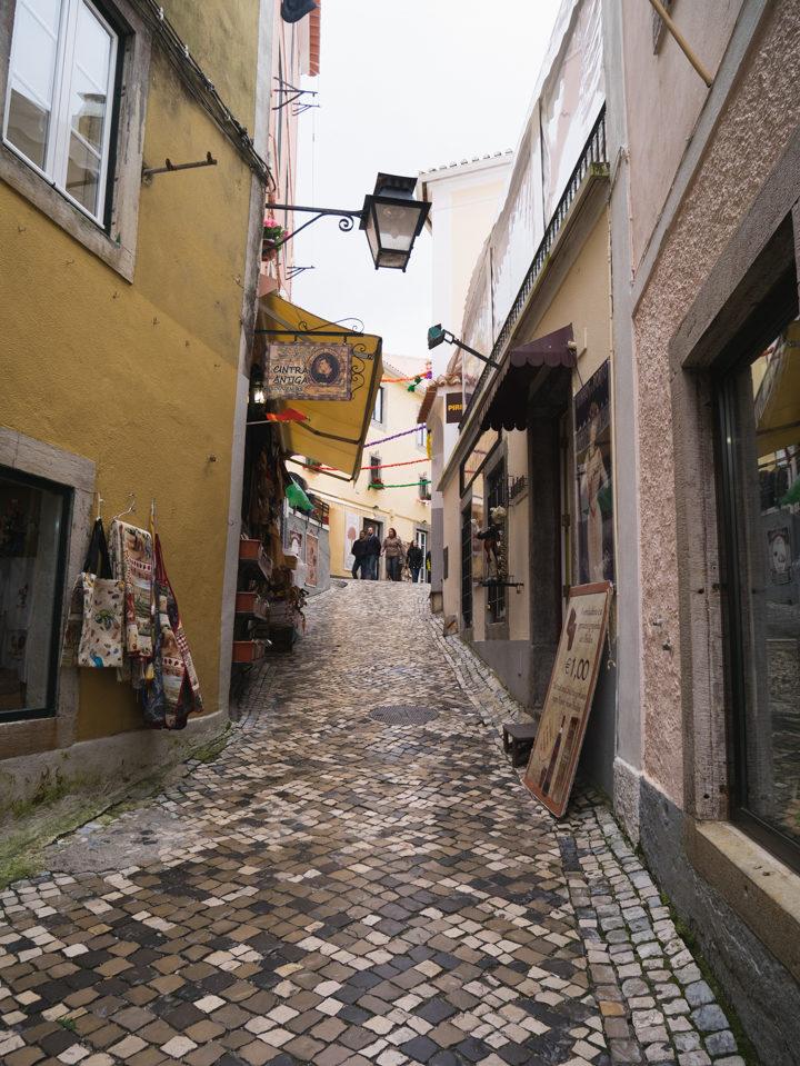 Sintra streets - Portugal - Learn more on RoadTripsaroundtheWorld.com