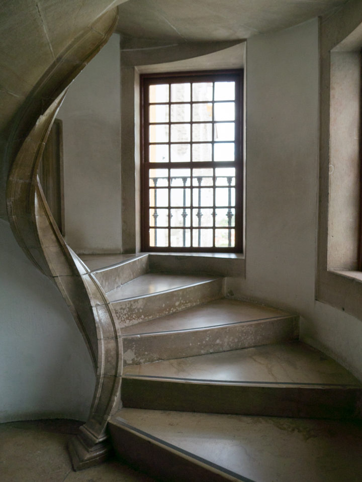 Staircase at the Sintra Palace - Portugal - Learn more on RoadTripsaroundtheWorld.com
