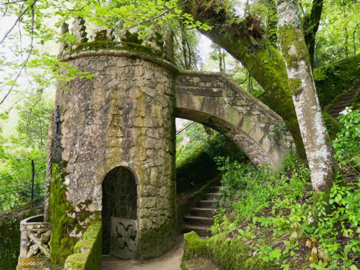 The East tower - Quinta da Regaleira Palace - Portugal - Learn more on RoadTripsaroundtheWorld.com