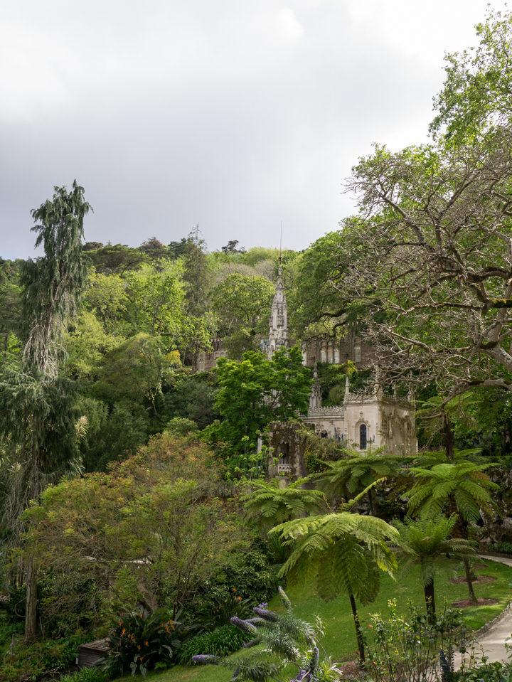 The Gardens of the Quinta da Regaleira Palace - Portugal - Learn more on RoadTripsaroundtheWorld.com