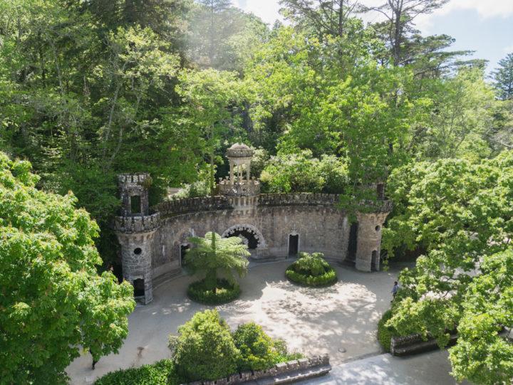 The Portal of the Guardians - Quinta da Regaleira Palace - Portugal - Learn more on RoadTripsaroundtheWorld.com