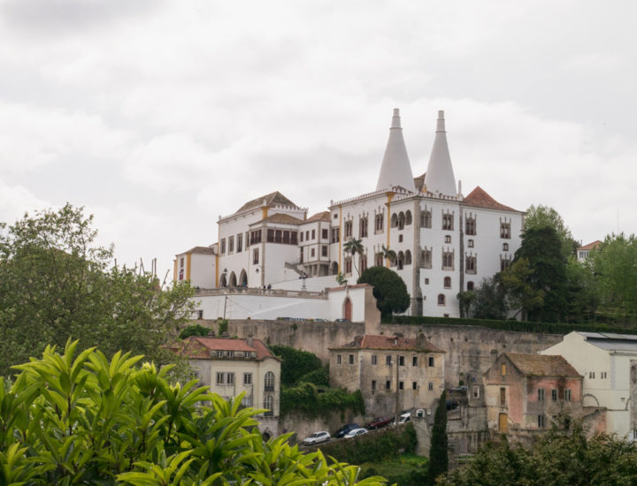 The Sintra Palace from the city - Portugal - Learn more on RoadTripsaroundtheWorld.com
