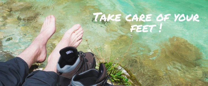 How to take care of your feet when travelling?