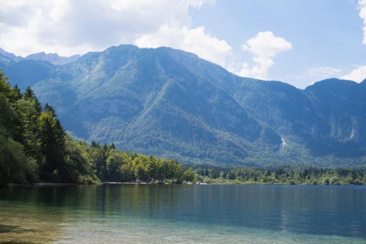 Lake Bohinj in Triglav national park, Slovenia - learn more on RoadTripsaroundtheWorld.com