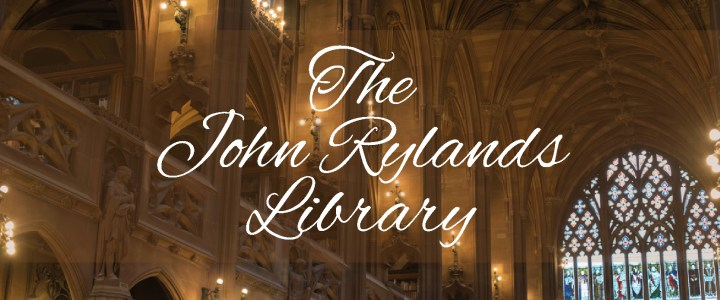 Visit of the John Rylands Library in Manchester