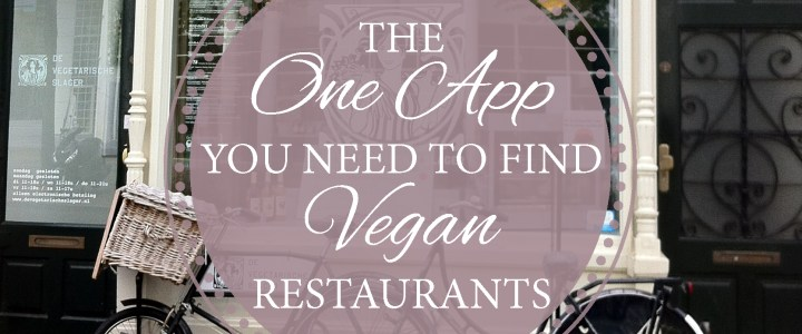 Vegan on the Road: Finding a Vegan restaurant