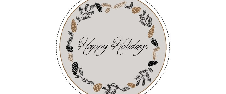 Happy Holidays from RTatW! (and free gift tags to download)