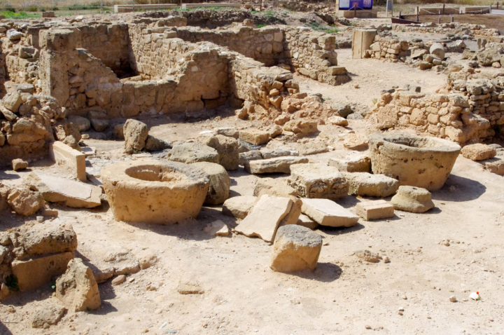 The Paphos Archaeological Park, Paphos, Cyprus - Learn more on www.RoadTripsaroundtheWorld.com