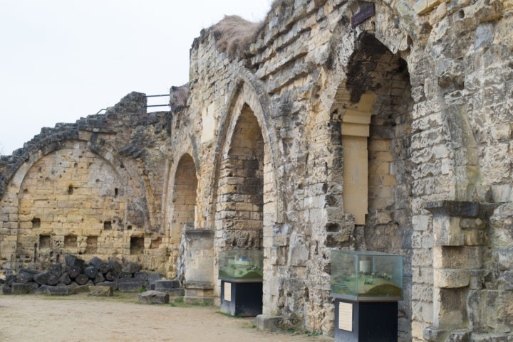 The Knights Hall - Valkenburg castle ruins, Netherlands - Learn more on www.RoadTripsaroundtheWorld.com