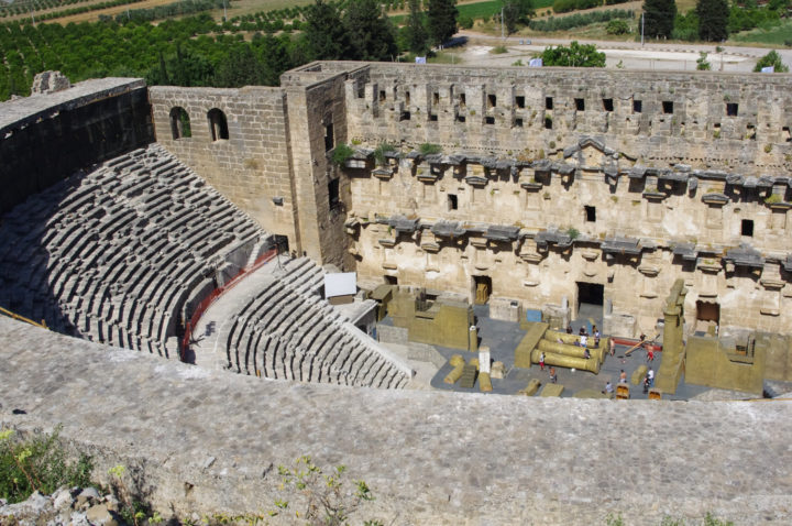 Aspendos theater, Turkey - www.RoadTripsaroundtheWorld.com