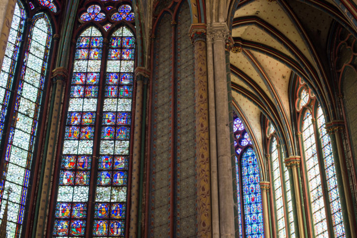 Detail of the chevet and chapels - Amiens Cathedral, France - www.RoadTripsaroundtheWorld.com