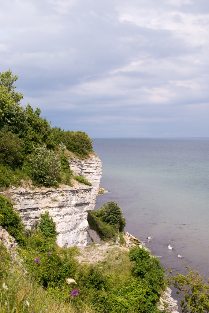 Hiking the coast path at Stevns Klint, Denmark - www.RoadTripsaroundtheWorld.com