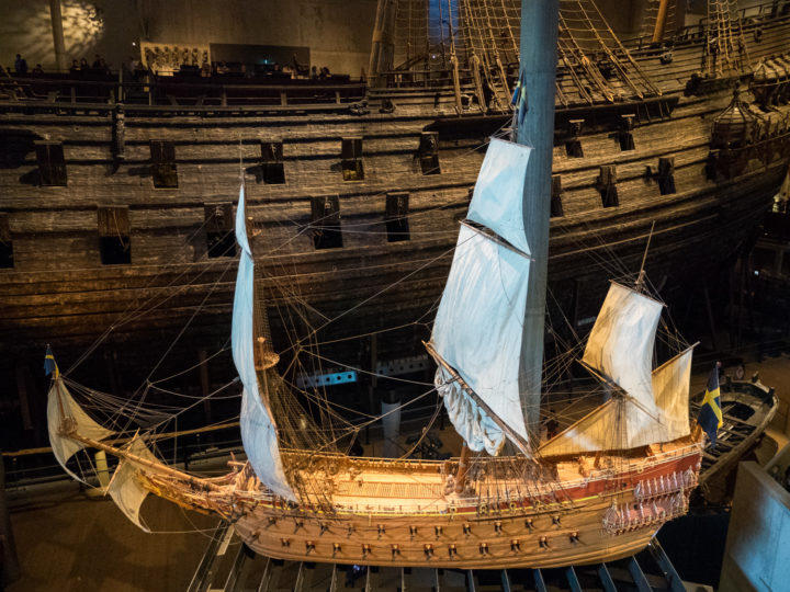 Model of the Vasa Ship - Vasa Museum - Stockholm, Sweden - www.RoadTripsaroundtheWorld.com