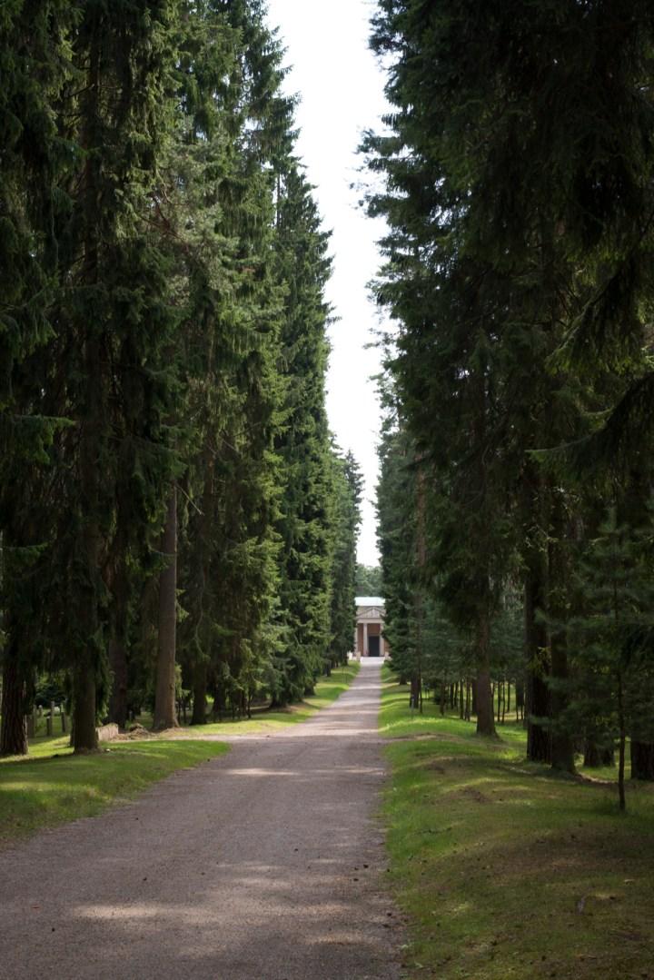 The Seven Springs Way in Skogskyrkogården - the Woodland Cemetery in Stockholm - www.RoadTripsaroundtheWorld.com