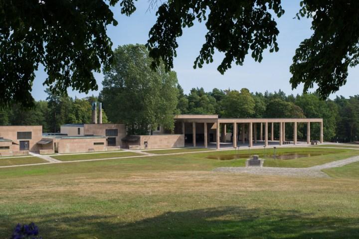 The Woodland Crematorium by Gunnar Asplund - 1940 - Visit Skogskyrkogården - the Woodland Cemetery in Stockholm - www.RoadTripsaroundtheWorld.com