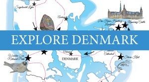 Explore Denmark with this Road Trip itinerary - free to download on www. Road Trips around the World .com