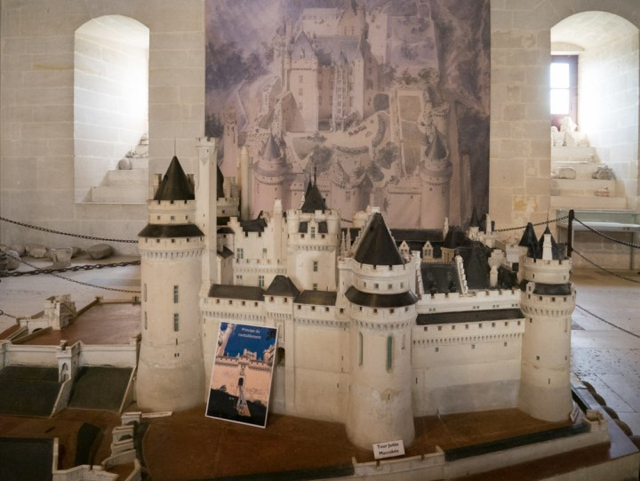 Pierrefonds model - Chateau de Pierrefonds, France - www.RoadTripsaroundtheWorld.com