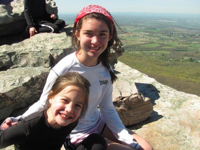 Backpacking with kids Annapolis Rocks on the Appalachian Trail
