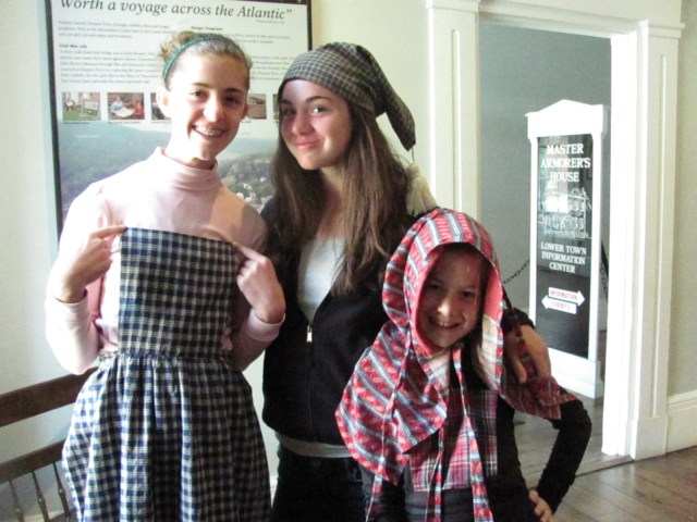 Playing Dress Up Harpers Ferry National Historical Park