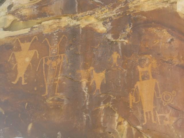 Petroglyphs in Dinosaur National Monument