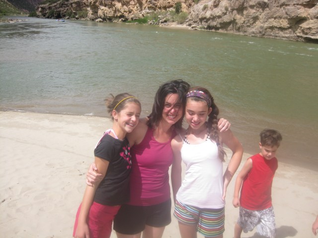 Hatch Beach- Whitewater Rafting in  Dinosaur National Monument