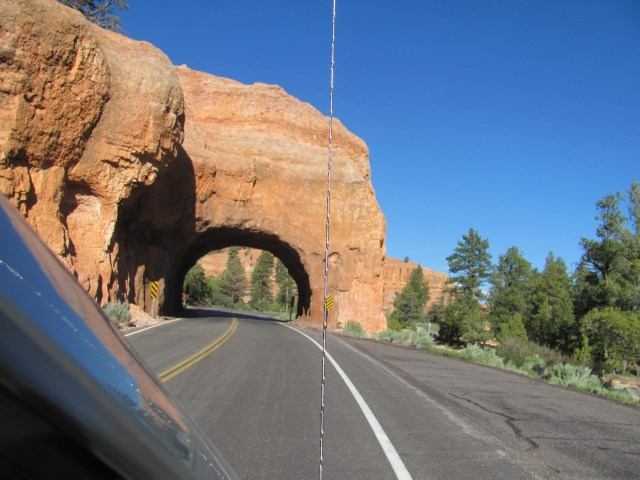 Driving to Bryce Canyon