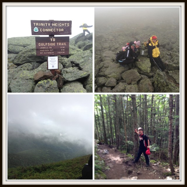 Climbing Mt. Washington with kids: Descending Mt. Washington on the Jewell Trail