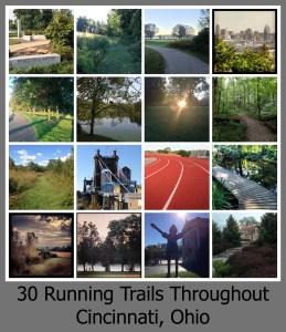 30 days Running: Trails in Cincinnati