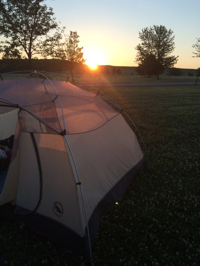 Our Southwest Road Trip: Camping in Clinton State Park- Lawrence, Kansas