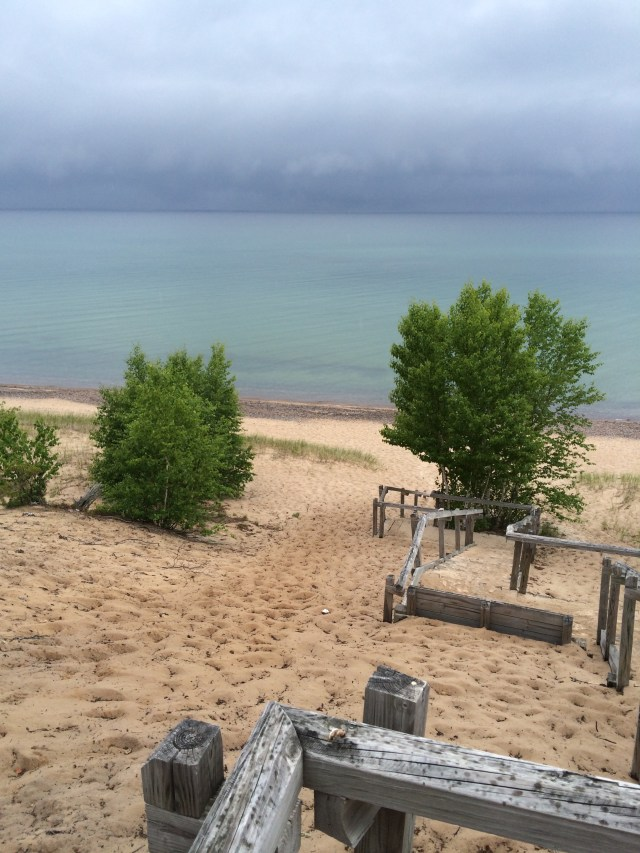 Pictured rocks in one day