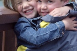 Happy Birthday Maya and Garrett