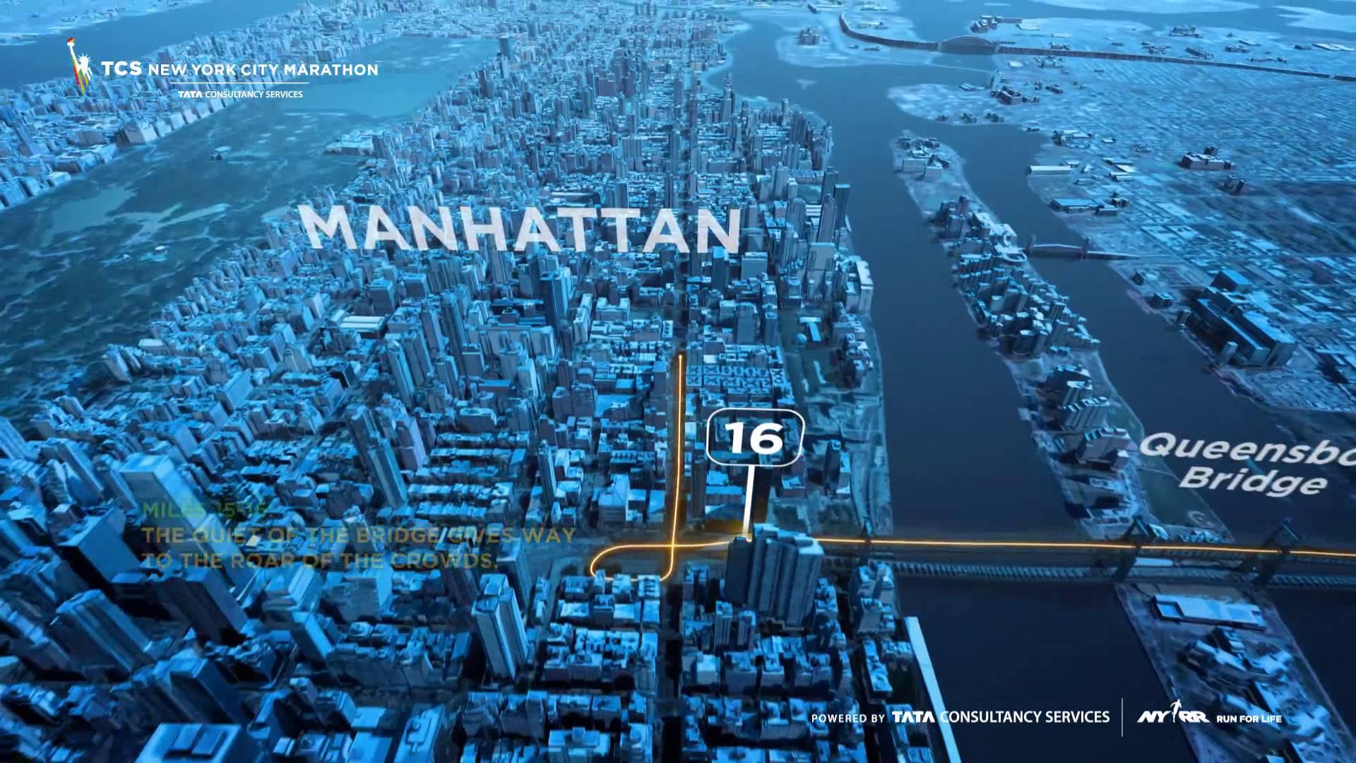 Running The New York City Marathon Part 2 Race Day Road