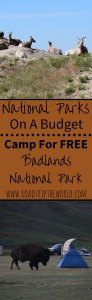 Free Camping in Badlands National Park