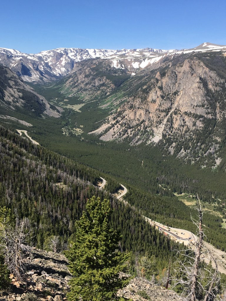 Beartooth Highway to Yellowstone National Park