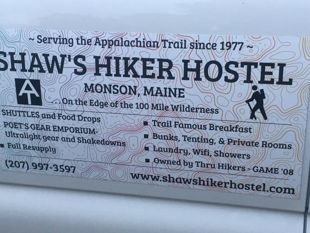 Shaw's Hiker Hostel