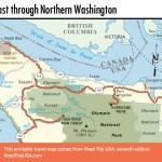Pacific Coast Route Through Washington State Road Trip Usa