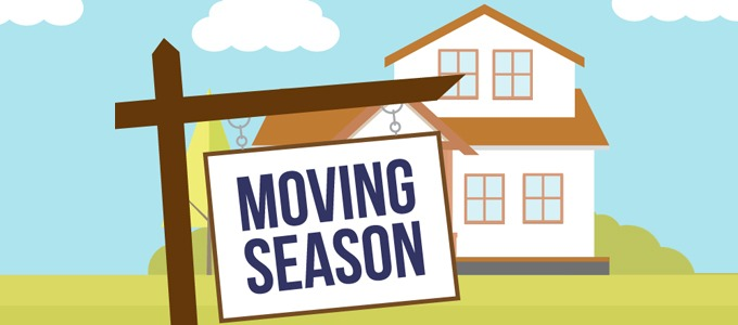 Moving Out: Moving Season Infographic