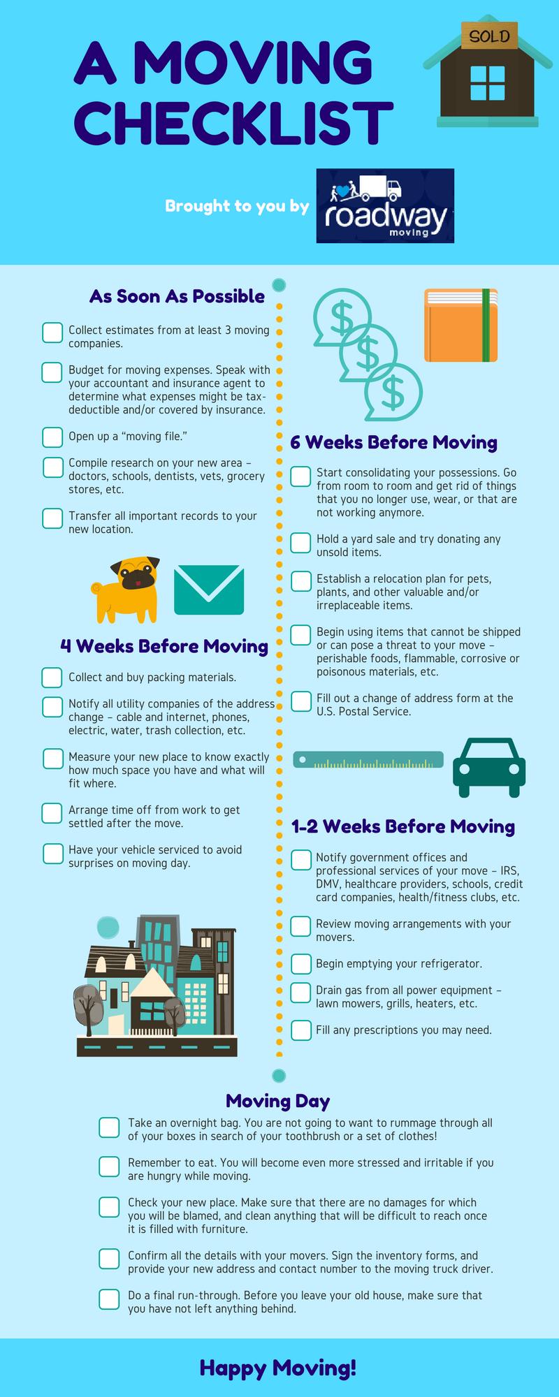 Free Moving Checklist New York
