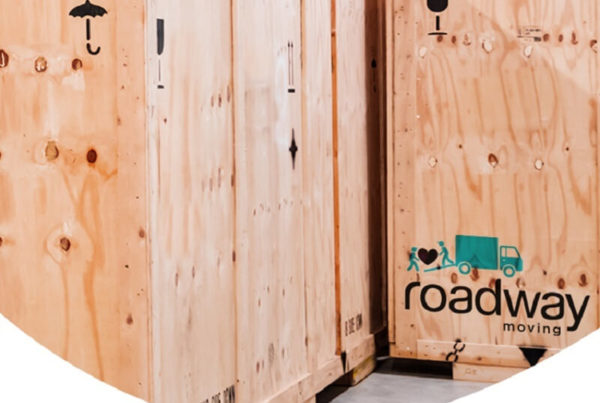 WOOD CRATE PACKING BY ROADWAY