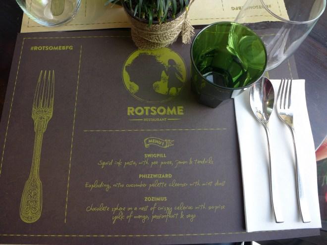 Koi Dessert Bar - Rotsome Menu #1