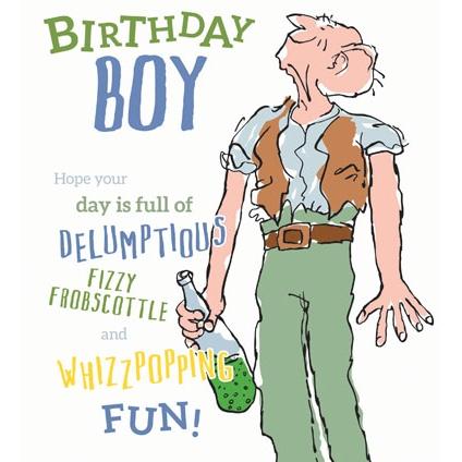 The BFG Boy Birthday Card