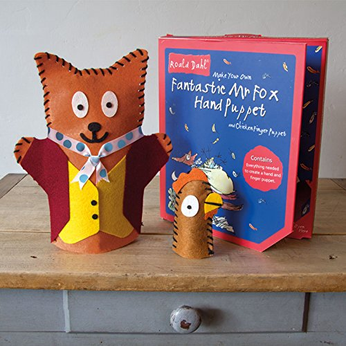 Make Your Own Fantastic Mr. Fox Hand Puppet